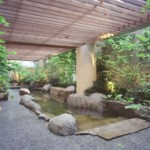 Outdoor bath at Laqua (Image: from homepage)