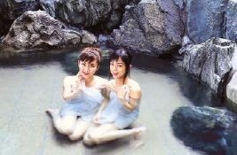 A Typical Commercial Phote found in the Homepage of Seiryukaku in Awara Onsen