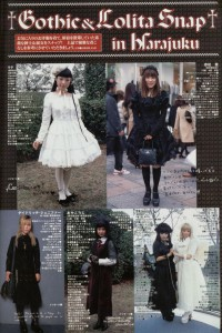 Gothic and Lolita Shop in Harajuku