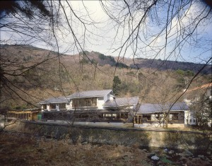 Tenzan is located along the river.