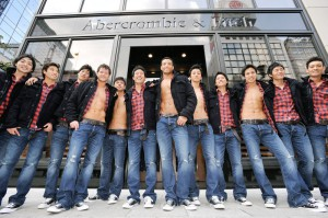 Abercrombie & Fitch Ginza Models