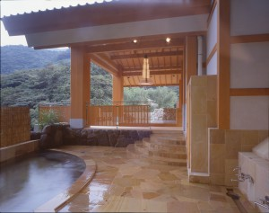 "Hakone Tenzan, ""IKKYU"" Outdoor Bath."
