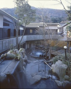 """Noten"" Open air Onsen Space"