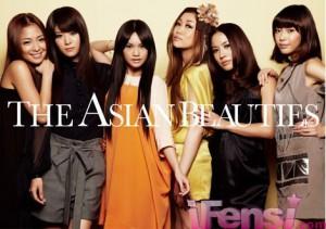Jaime Fong (Hong Kong), Jiaqing Wei (China), Rainie Yang (Taiwan), JUJU (Japan), MINT (Thailand), Olivia Ong (Singapore)
