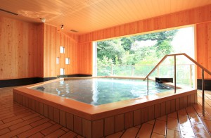 The Hotel Wellseason Hamanako; The Onsen in the annex is availabe only for hotel guests.