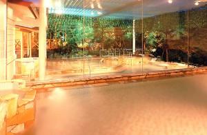 The Hotel Wellseason Hamanako; Spa area has a various types of Onsen.