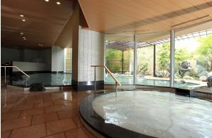 The Hotel Wellseason Hamanako; Inner Bath and Outdoor bath for Ladies.