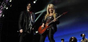 Michael Jackson and Orianthi
