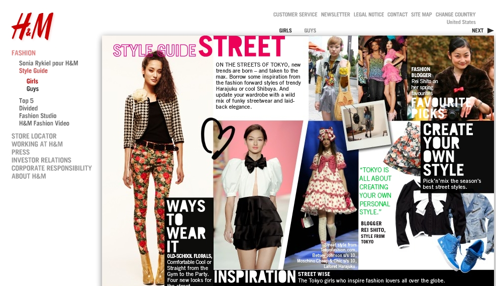 H M Style Guide Featured Tokyo Street Fashion Tenkai Japan Cool Japan Guide Travel Shopping
