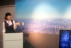 TOKYO SKY TREE Info Plaza (東武鉄道株式会社・東武タワースカイツリー株式会社提供)