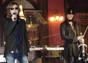 Yoshiki at Jewelry