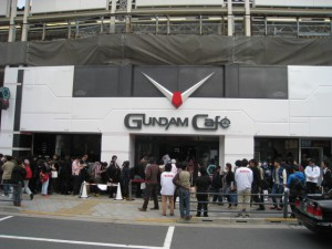 Gundam Cafe Akihabara