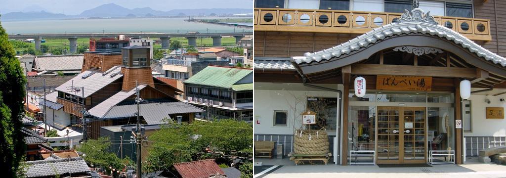 Edo-style Banpeiyu Bathhouse.