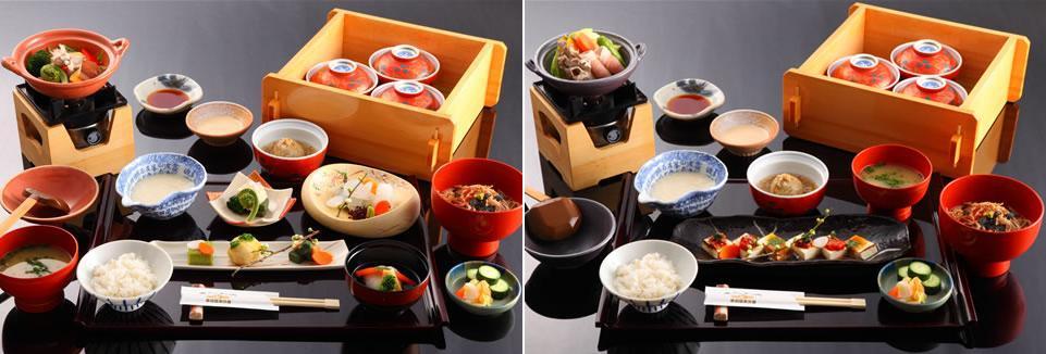 2,500 yen & 4,000 yen Lunch Sets