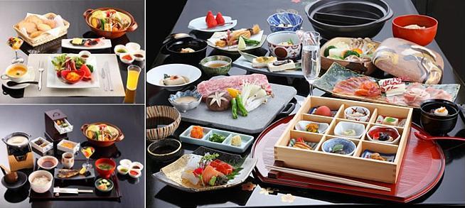 Breakfast and Kaiseki Dinner