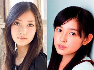 """Miki Honoka (R), Haru (L) """"Maria-sama ga Miteru"""""""