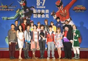 """Aya Sugimoto x 3-D """"Kamen Rider"""" movie"""