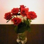 These roses are just 150 yen