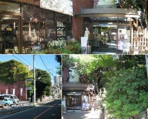 yayoi museum entrance area
