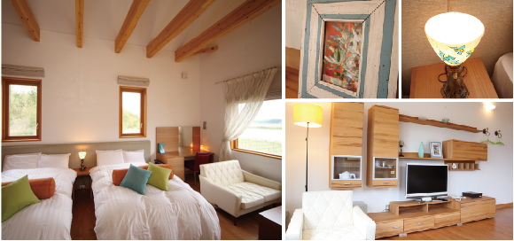 Olive western room