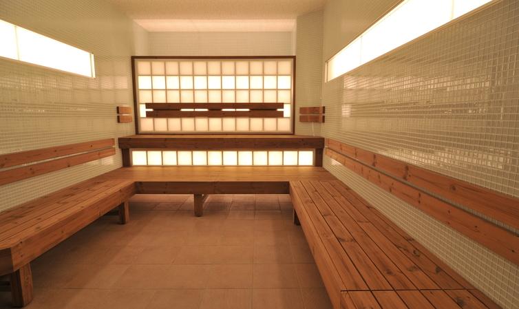 crystal sauna