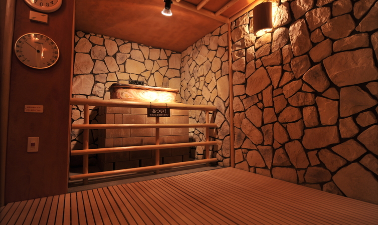 salt steam sauna