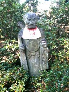 demon shaped (?) Jizo bodhisattva