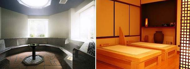 ganbanyoku & sauna