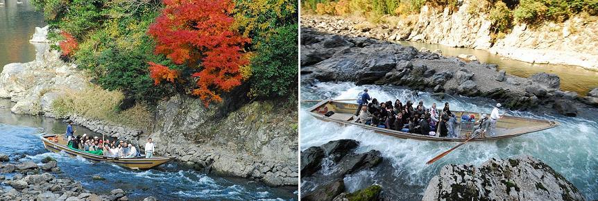 hozugawa-kudari boat ride