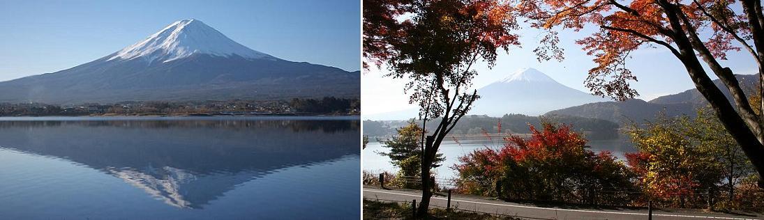 sasasa-fuji&lake kawaguchi set