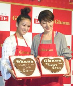 Masami Nagasawa (right) & Emi Takei