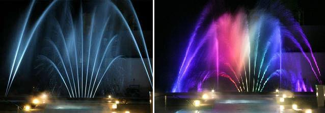 fountain show set