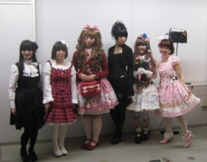 members from Gothic&Lolita&Punk no kai