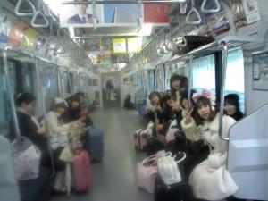 Gothic&Lolita&Punk no kai graduation trip