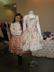 "Yuko Sato,""Pina sweetcollection""designer"