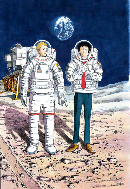 """Feeling """"over the moon"""" with the """"Space brothers"""" gallery"""