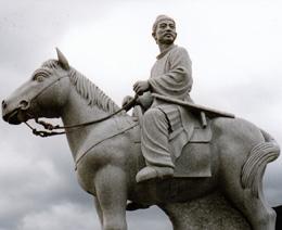 hitomaro_statue